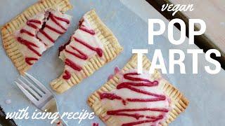HOMEMADE POP TARTS | Vegan & super easy!