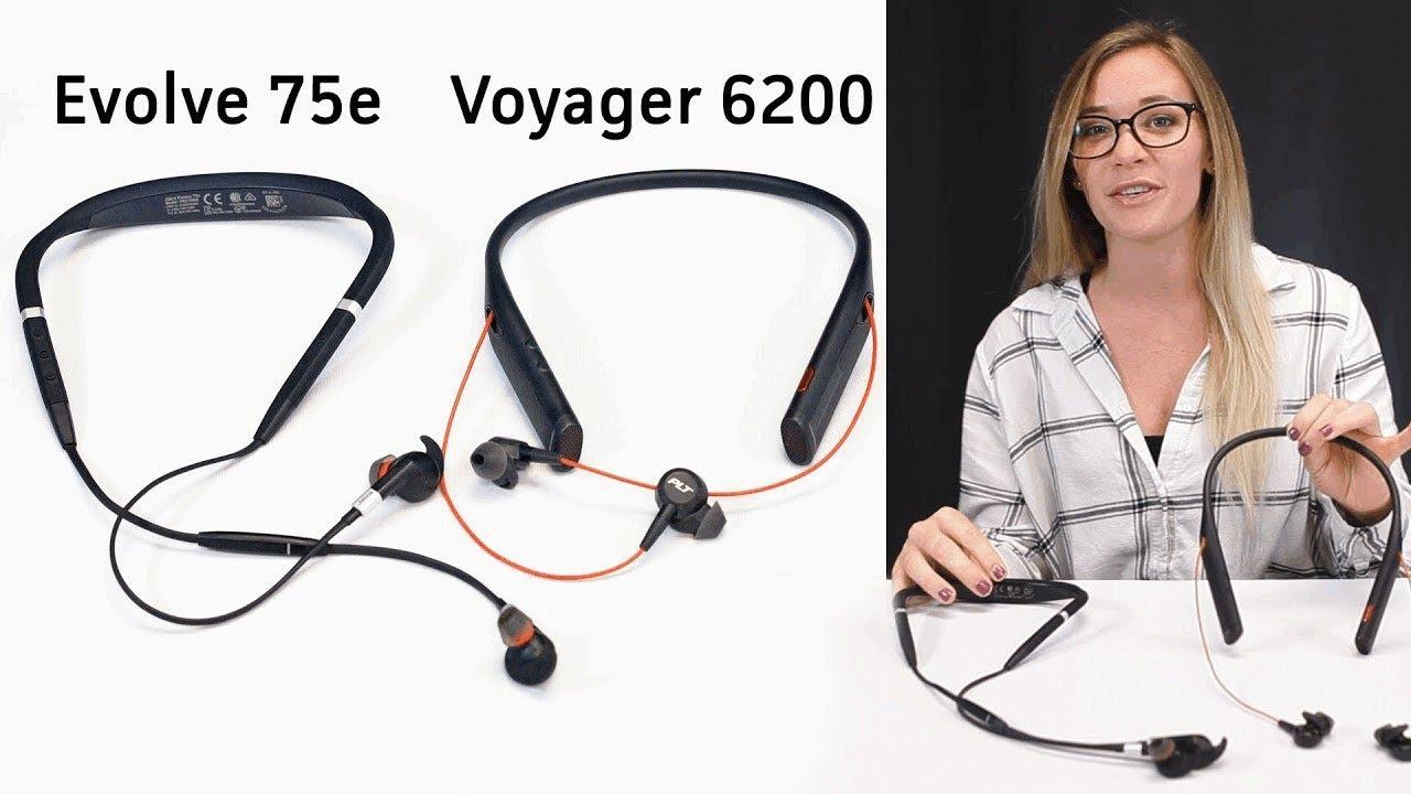 Jabra Evolve 75e And Plantronics Voyager 6200 Comparison Part 2 Youtube
