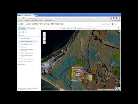 Green Seattle Partnership ArcGIS Online Map Tutorial
