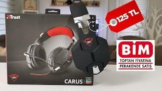 BİM'de satılacak Trust Carus oyuncu kulaklığı incelemesi