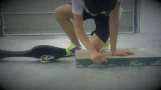 видео Выполнение прыжка на WaveBoard |