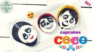 Cupcakes de la película COCO- Disney Pixar 😍😃