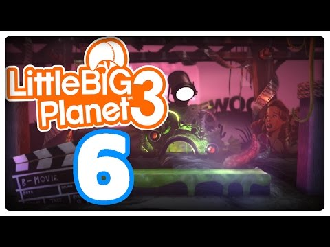 Let's Play LITTLE BIG PLANET 3 Part 6: Als Yeti über heiße Kohlen