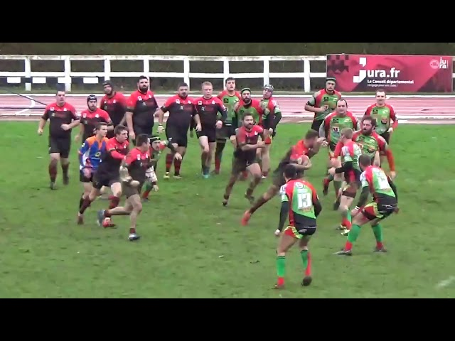 US Dole 16 - Champagnole Rugby 10