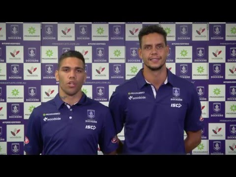 Fremantle Dockers Partners With Yirra Yaakin | Michael Walters | Michael Johnson