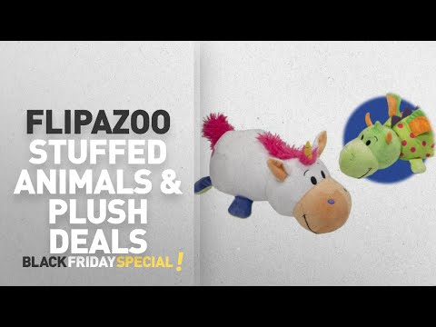"Walmart Top Black Friday FlipaZoo Stuffed Animals & Plush Deals: 16"" Unicorn to Dragon FlipaZoo 2 in"