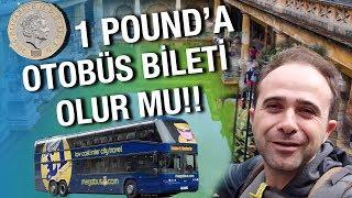 1 TL'ye Otobüs Bileti Aldığınızı Düşünün !!! Keşke Türkiye'de Olsa !!! 1 Pound'a Bilet Mi Olur ?