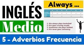 """Adverbios de frecuencia: always, usually, sometimes & never (Reglas) """"Yes en Inglés 2"""" [Video 5]"""