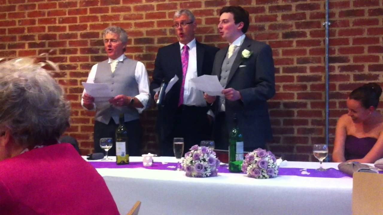 Father Of The Bride Wedding Speech In Song