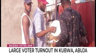 Large voter turnout in Kubwa, Abuja