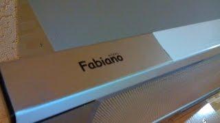 Встраиваемая вытяжка, телескопическая, Fabiano, обзор