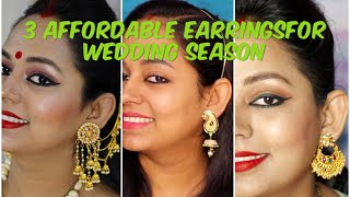 3 Types of Earring You Must Have For Wedding Season