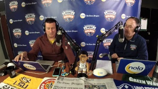 Dunc and Holder on Sports 1280 in New Orleans.