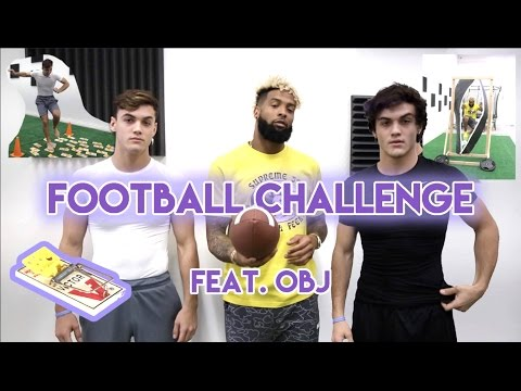 Thumbnail: Football Challenge with Odell Beckham Jr.!!