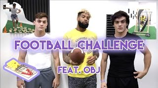 Football Challenge with Odell Beckham Jr.!! thumbnail