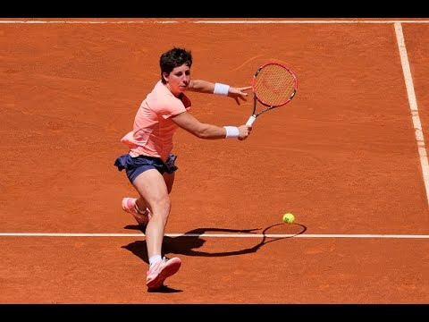 2016 Mutua Madrid Open Second Round | Carla Suarez Navarro vs Sabine Lisicki | WTA Highlights
