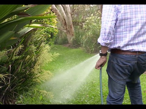 The Best Way to Lime Your Lawn & Garden. Spray on Eco-Flo Lime. Balance  pH of over-fertilised lawn.