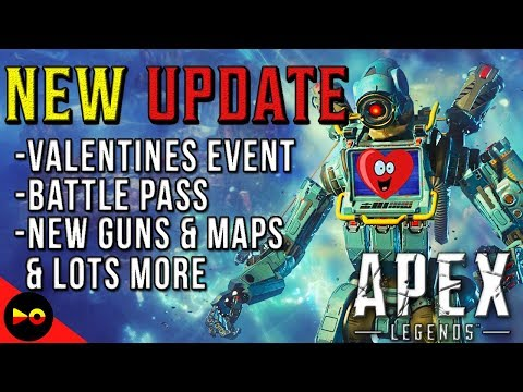 BATTLE PASS UPDATE & VALENTINES DAY EVENT | Apex Legends: New Weapons, Legends, Skins & More Mp3