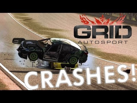 GRID Autosport Crash Compilation!