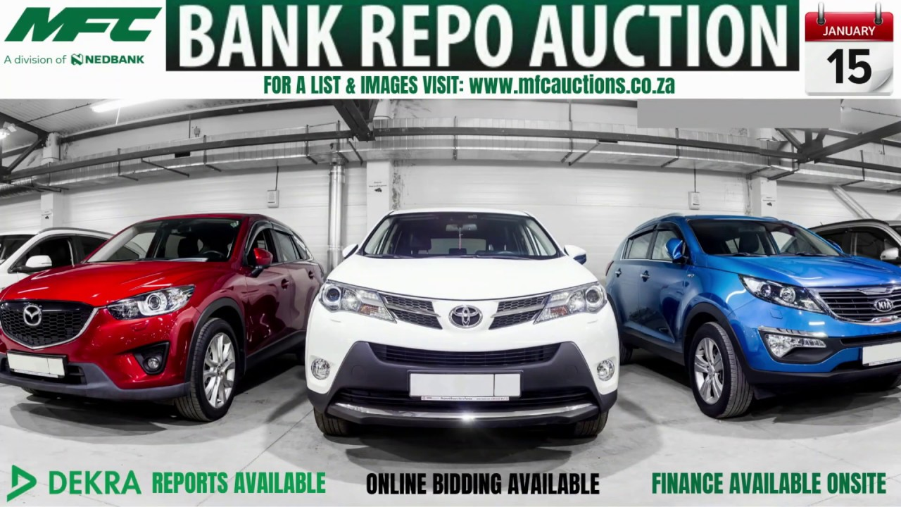 Mfc Bank Repo Vehicle Auction 15 January 2020 Youtube