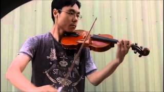 Trinity TCL Violin 2016-2019 Grade 1 A5 Wilson Cha Cha Bowing Performance