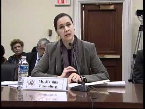 "U.S. Helsinki Commission Hearing - ""Human Trafficking and Transnational Organized Crime"""