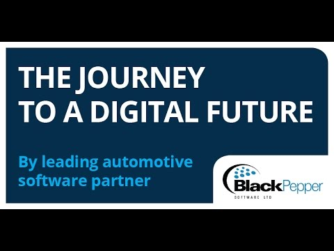 Digital Transformation in the Automotive Sector Webinar