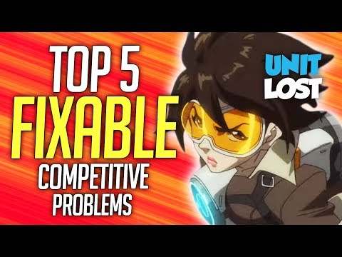 Overwatch - How To FIX Competitive (Top 5 FIXABLE PROBLEMS)