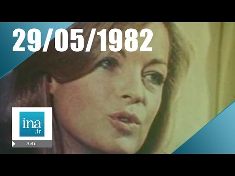 20h Antenne 2 du 29 mai 1982 - Mort de Romy Schneider - Archive INA