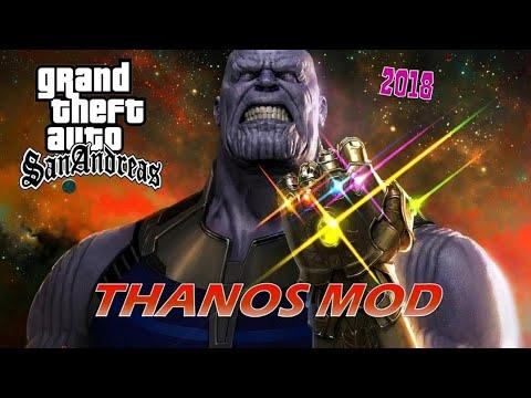 GTA San Andreas Thanos Mod 2018 (New)