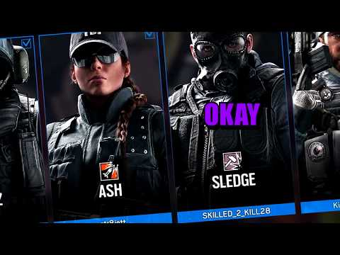 When rushing goes wrong! - Rainbow Six Siege funny moments