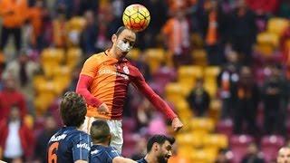 Galatasaray Başakşehir Maçı 3-3 Maçtan Görüntüler 06.03.2016 Süper Lig GS Maçı