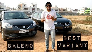 Which Baleno Variant is Best ? | Maruti Baleno Value For Money Variant