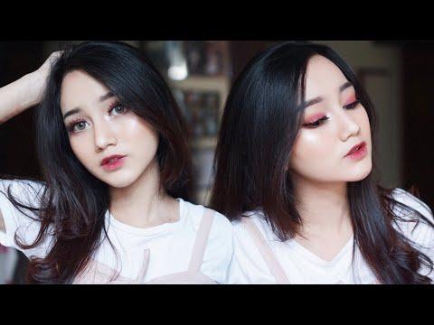 Easy Cranberry Makeup Tutorial || Tarteist Pro Palette [ENG SUB]