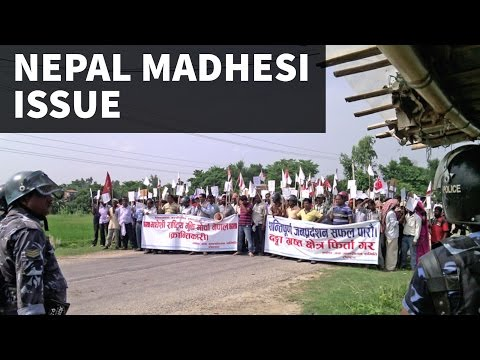 The Madhesi Issue - Nepal, India-Nepal Relations - UPSC/IAS/PCS