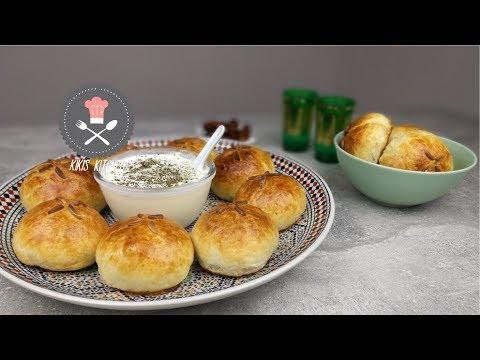 Ouzi Rezept | Syrische Spezialität | Uzi | Ramdan | Iftar | Gefüllte  Blätterteigtaschen