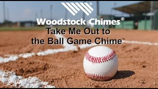 Take Me Out to the Ball Game Chime by Woodstock Chimes