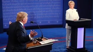 A nasty final presidential debate in 90 seconds