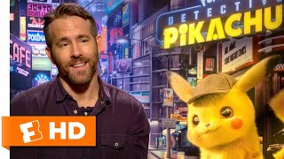 Ryan Reynolds Wouldn't Mind Being a Real-Life Snorlax | 'Detective Pikachu' Interview | Fandango
