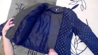 Обзор демисезонная женская куртка.