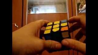 Видео урок по сборке кубика рубика 3x3 часть 3