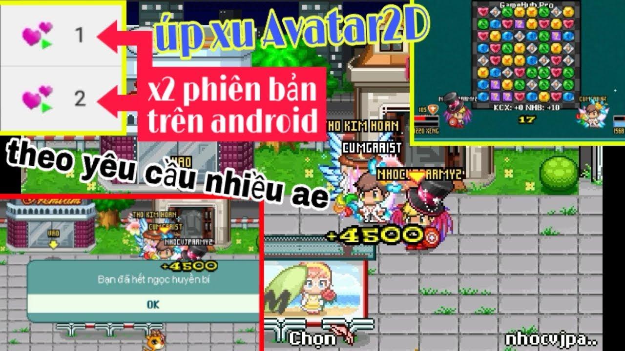[Úp Xu Chậm] Quá Trình Úp Xu Của Nhóc Trần Trên Android | Avatar 2D Teamobi