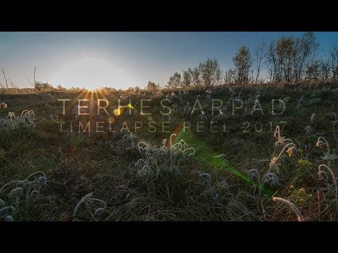 TIMELAPSE REEL 2017 | 4K (Debrecen time lapse - 2017)