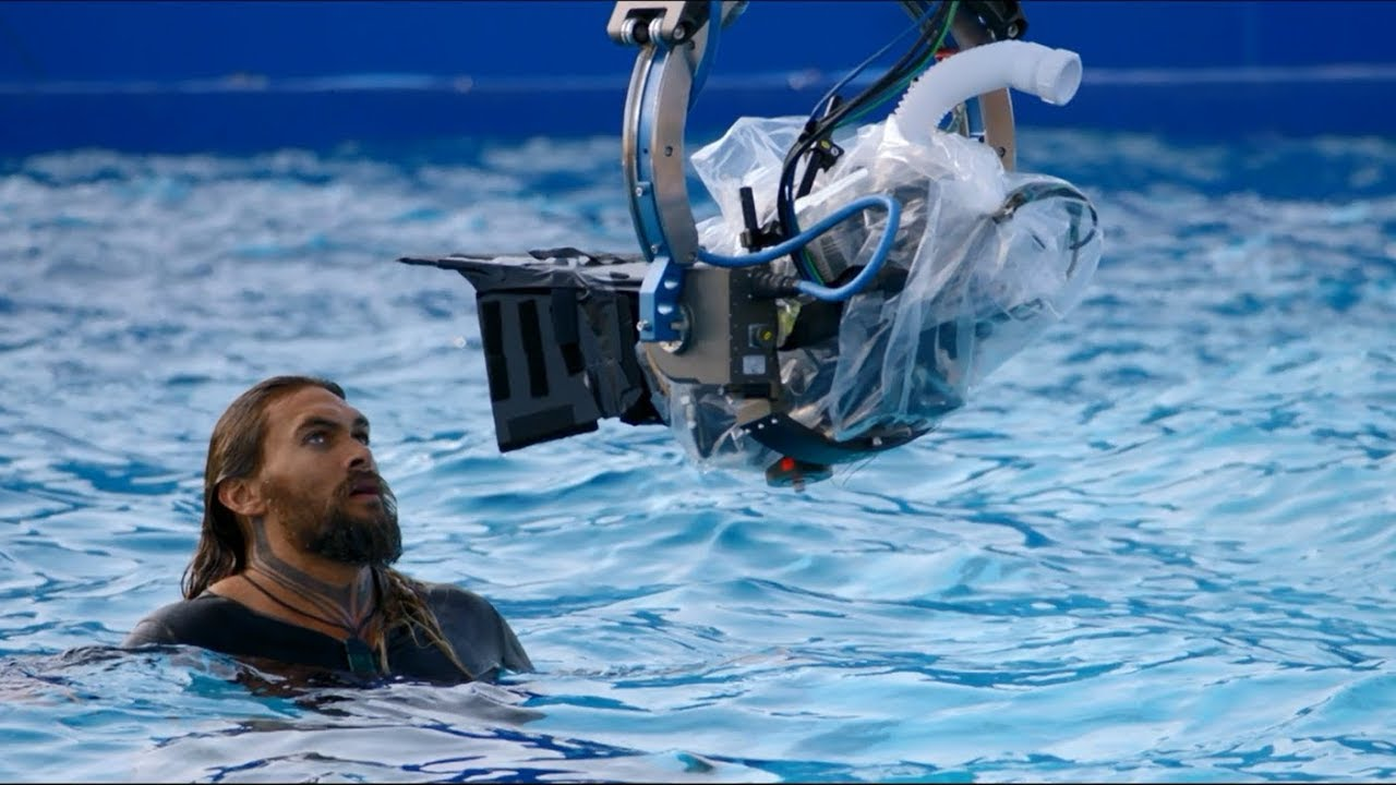 A Behind-the-Scenes Look at the Upcoming 'Aquaman' Movie