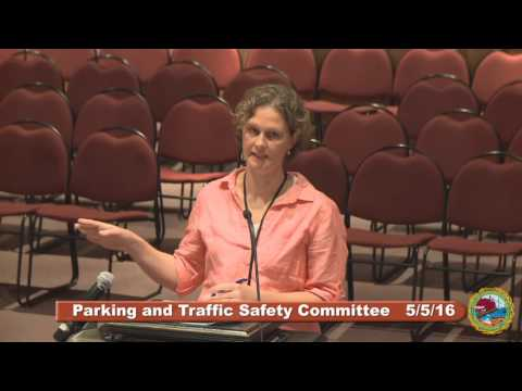 Parking and Traffic Safety Committee 5.5.16