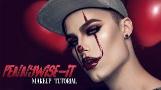 IT/Pennywise 2017 Halloween Makeup Tutorial - GLAMoween