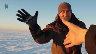 Зимняя рыбалка в Заповеднике на озере КОКАЙ/Заповедник Казахстана