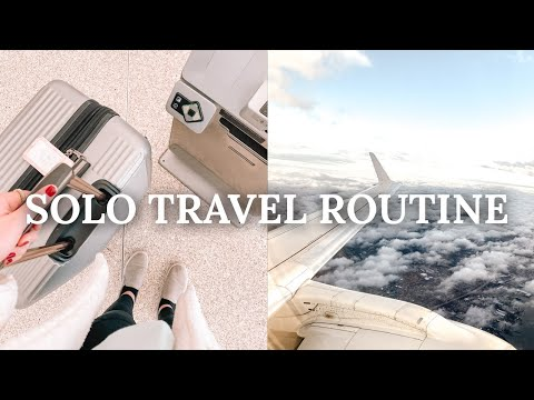 TRAVEL ROUTINE 2020: whats in my carry on, healthy airport food, travel tips