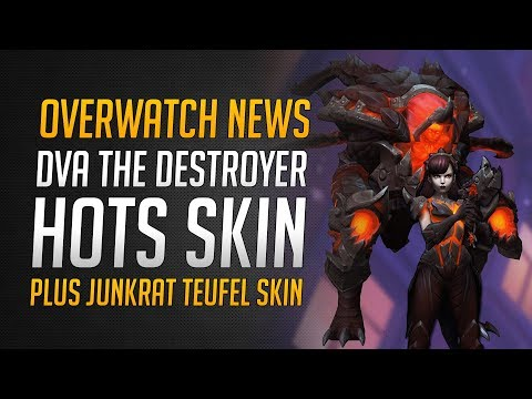 DVA THE DESTROYER SKIN | Junkrat Teufel Skin | Overwatch in Heroes of the Storm ★ Overwatch Deutsch