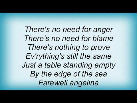 Jeff Buckley - Farewell Angelina Lyrics